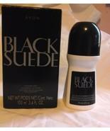 Avon Black Suede 2 Piece Set - $17.49