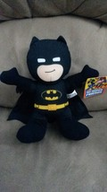 BATMAN D. C. SUPER FRIENDS ALL BLACK Brand New Licensed Plush NWT New w ... - $14.99