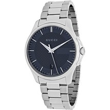 Gucci YA126441 Grey Dial Stainless Steel Strap Gents Watch - $404.99