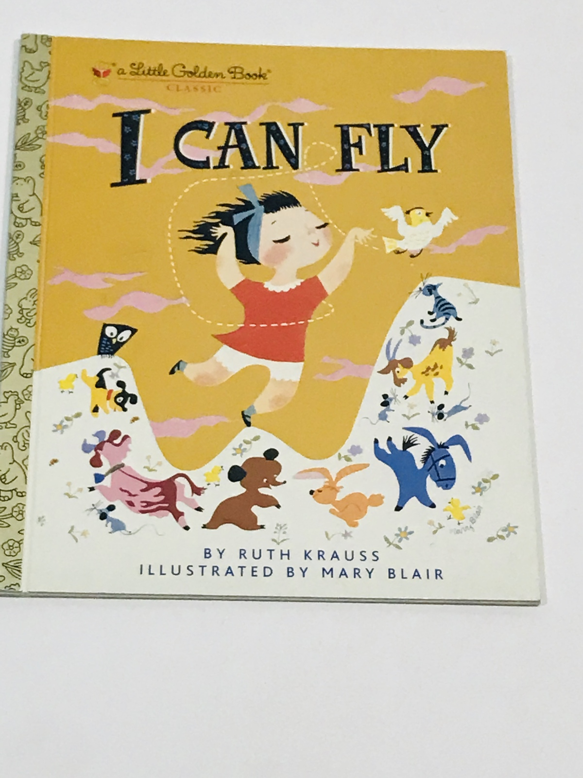 I Can Fly By Ruth Krauss - A Golden Book