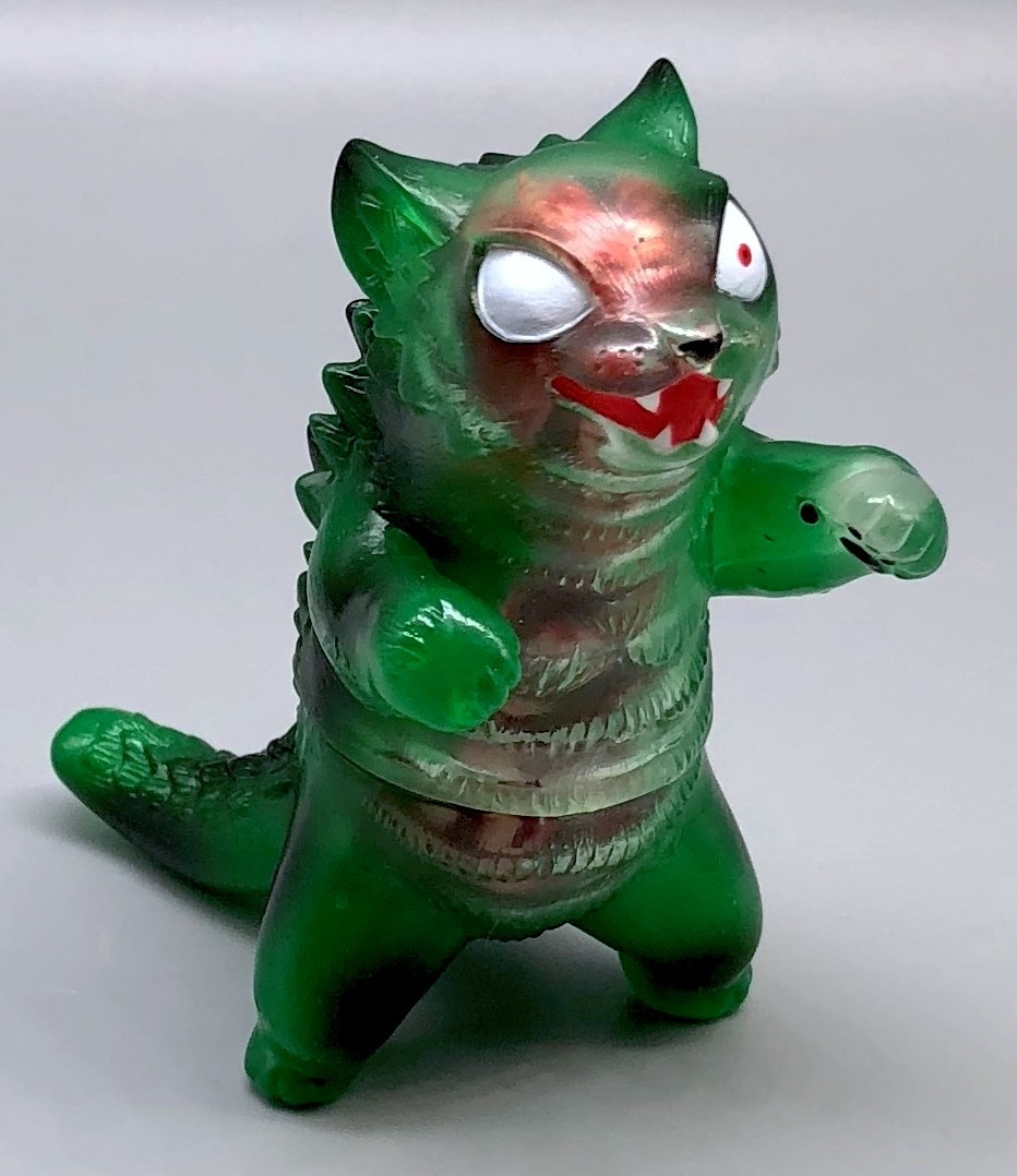 Max Toy Green Zombie Negora - Rare