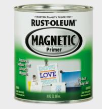 New!! Rust-Oleum Magnetic Black Primer For All Surfaces 1 qt. Flat finish 247596 - $34.99