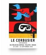zF Le Corbusier 1963 Exhibition Artwork Poster - $6.68+