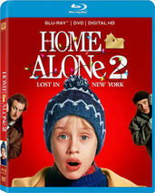 Home Alone 2: Lost In New York Disney/Fox Blu-ray + DVD + Digital HD NEW - $15.99