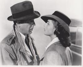 Casablanca B Bogart Bergman Vintage 28X35 BW Movie Memorabilia Photo - $45.95