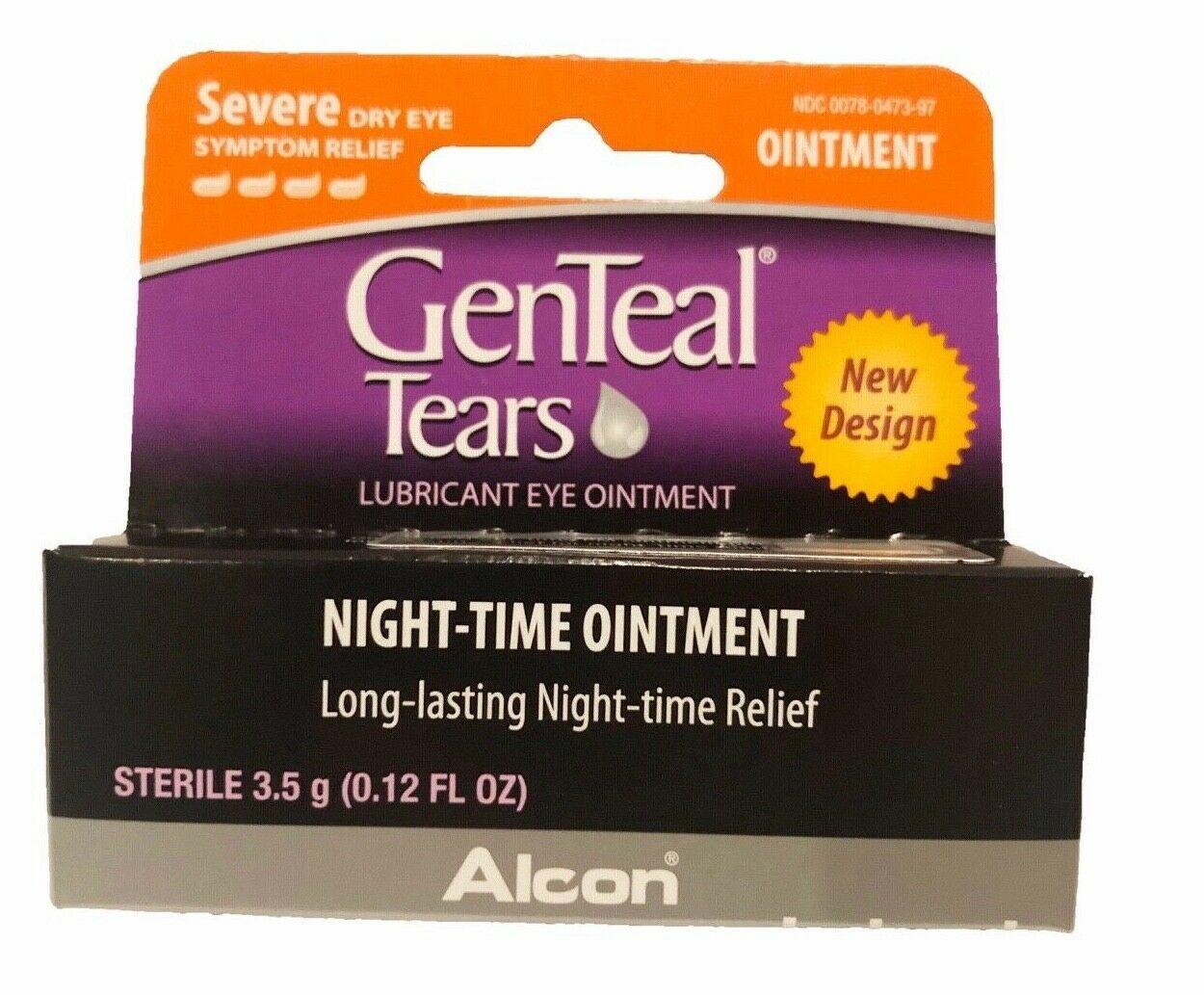 GENTEAL Tears Severe Eye Ointment for Severe Dry Eye Symptom Relief, 3.5g