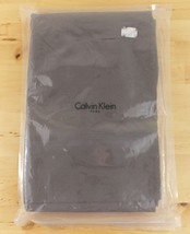 NEW Calvin Klein Double Row Cord Brown 100% Pure Combed Cotton Queen Fla... - $37.95