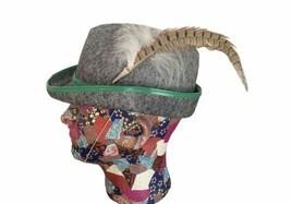 Oktoberfest Original Souvenir Felt Hat Feather Ekinzinger Modell Munchen... - $18.50