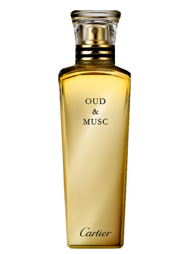 OUD MUSC by CARTIER 5ml Travel Spray Perfume Agarwood Civet Musk