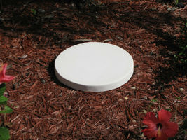 "16""x2"" ROUND PLAIN CONCRETE STEPPING STONE MOLD, MOULD- MAKE FOR PENNIES EACH image 3"