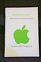 Rare Apple II Programmer's Aid #1 Installation Operating Manual 1978 - $18.87