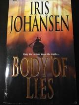 Eve Duncan #4: Body of Lies by Iris Johansen 2003, Paperback - $1.95