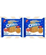 2 Nabisco Gingerbread Oreo Cookies CHRISTMAS LIMITED EDITION 10.7 OZ EXP... - $25.38