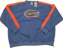 Florida Gators Albert Mascot NCAA SEC Blue Orange Pullover Wind Jacket L New - $39.59