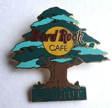 Hard Rock Cafe BEIRUT 1998 Lebanon cedar Tree PIN No. 1149 Clasp gold back rare - $37.99