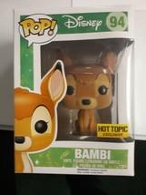 Disney Funko Pop Original Bambi # 94 Retired Vaulted Vinyl Figure - $24.99
