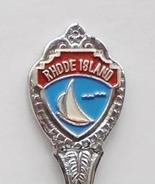 Collector Souvenir Spoon USA Rhode Island Sailboat - $4.99