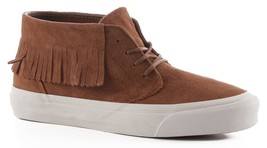 VANS Chukka Moc DX (Suede) Bison Brown White Sneakers Womens Size 9.5 - $54.95