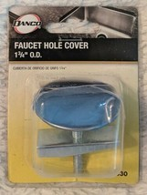 DANCO 80830 Chrome Kitchen Faucet Hole Cover Fits All Standard Sinks image 1