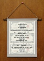 2 Dollar Bill - Personalized Wall Hanging (511-1) - $18.99