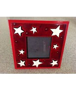 "Vintage 11th St Studio Frame By Kate Donnelly Painted Wood With Stars 7""... - $21.04"