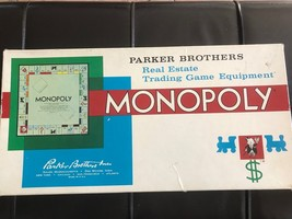 Vintage Monopoly Game 1961 - Good Condition - $25.99