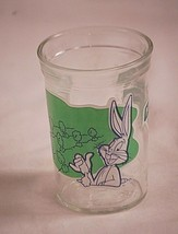 1994 Welch's Bugs Bunny Keep Out! Jelly Jar Glass Cup Animation Art Char... - $9.89