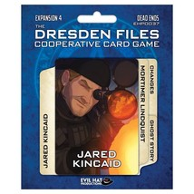 Dresden Files Card Game Dead Ends Expansion DFCO Co-Op Card Board Game E... - $12.50