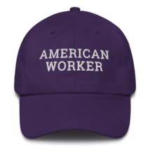American worker hat / American worker Cotton Cap / American worker / labor day  image 3