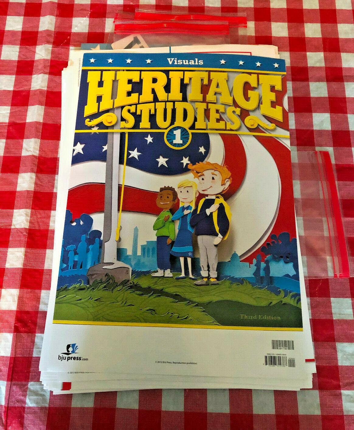 Bob Jones University Press: Heritage Studies 1 - Visuals (2013)