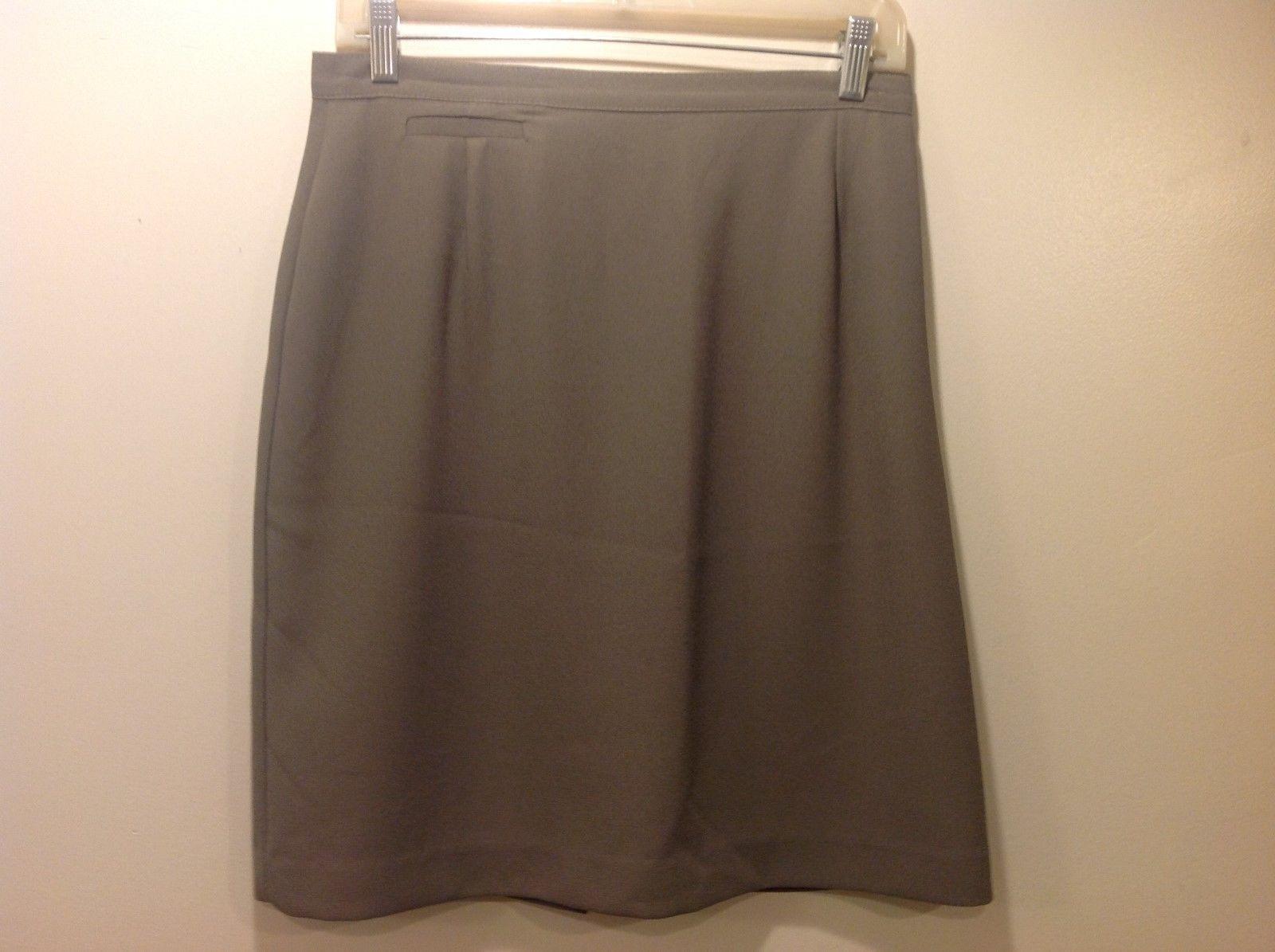 S.C BASICS Petite Green Skirt