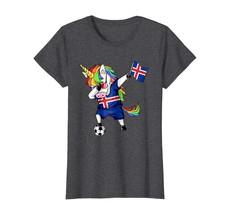 Sport Shirts - Dabbing Soccer Unicorn Flag Iceland Jersey T Shirt Wowen - $19.95+
