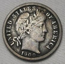 1900-O Barber Dime VF Coin AE137 - $135.38