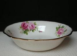 "American Beauty Royal Albert China 9½"" Round Vegetable Serving Bowl England - $28.85"