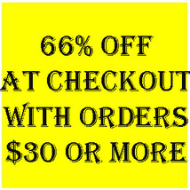 66% OFF ALL ORDERS OF $30 OR MORE AUTOMATICALLY AT CHECKOUT  MAGICK Cassia4  - Freebie
