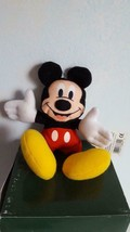 "7"" APPLAUSE MICKEY UNLIMITED DISNEY MICKEY MOUSE BEANBAG PLUSH WITH TAGS - $4.94"