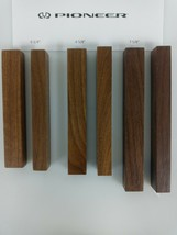 Solid Walnut Reproduction Pioneer SX Receiver End Caps - 3 sizes - $7.80