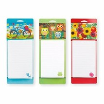 Set of 3 Magnetic 3D List Pads, Grocery Shopping List Magnetic 3D To Do ... - $11.73