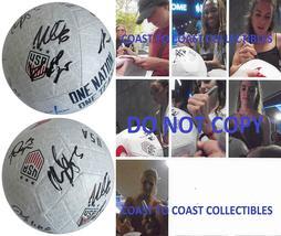 2019 USA Womens National team signed, autographed, USA soccer ball.proof... - $749.99