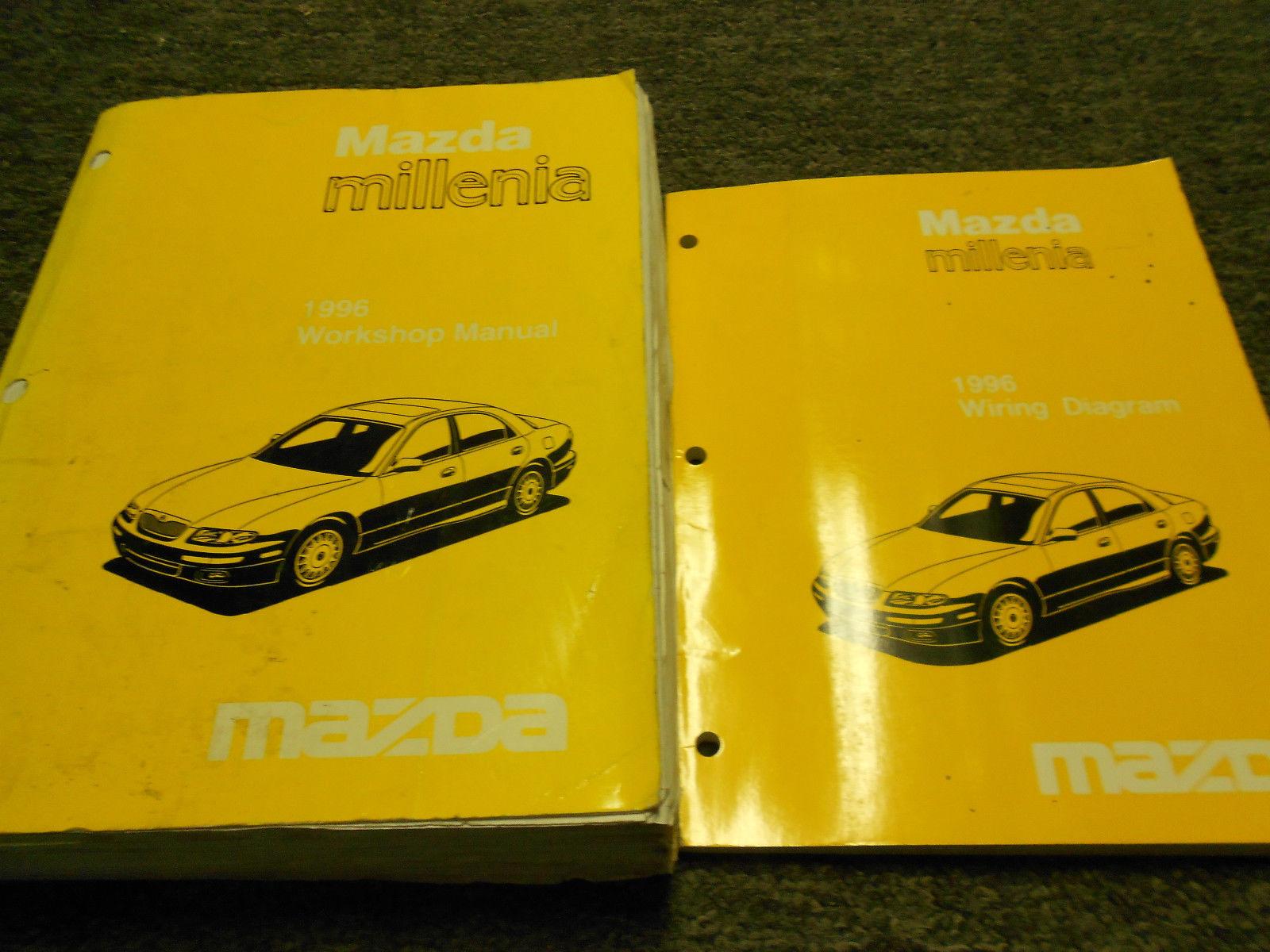 1996 Mazda Millenia Service Shop Repair Workshop Manual Set FACTORY OEM W  ETM