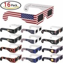 Homder 2017 Solar Eclipse Paper Glasses Design Variety 16 Pack - $11.77