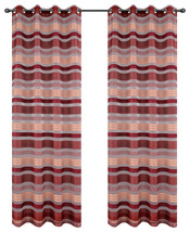 Becca Drapery Curtain Panels with Grommets image 5