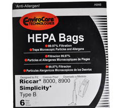 Riccar Simplicity Type B Vacuum Cleaner Bags RSR-1432H - $17.96