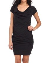 Bench Womens Casual Little Black Twistout T-Shirt Beach Dress BLSA1606 NWT image 1