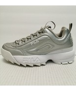 Fila Women's Disruptor II 2 Premium Fashion Metallic/White Size 7.5 M(B)... - $49.49