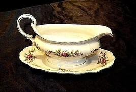 Bavarian German China Johann Haviland (No. 66) Gravy Bowl AB 55-HVintage image 2