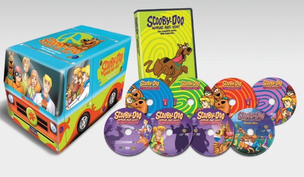 Scooby doo where are you  complete series season one three 1 3 new 8 disc dvd 2