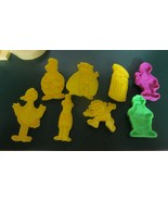 Vintage  SESAME STREET Cookie Cutters all  your favorites  - $17.05