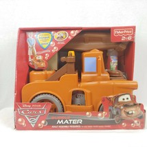 Disney Cars 2 Fischer Price Walk Behind Bubble Mater Rare/Vintage (15x10... - $108.89