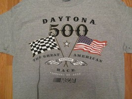 Daytona 500 Nascar 2005 with tags T Shirt Size M - $14.99
